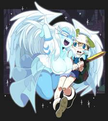 Guardian Angel by Gashi-gashi