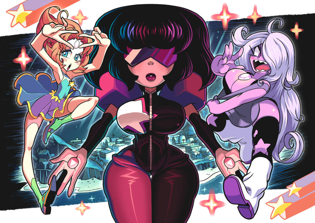 Crystal gems by Gashi-gashi