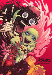 the return of the living dead by Gashi-gashi