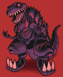 Shin Godzilla by Gashi-gashi