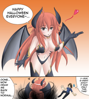 Happy Halloween from Ciyiana by Jcdr