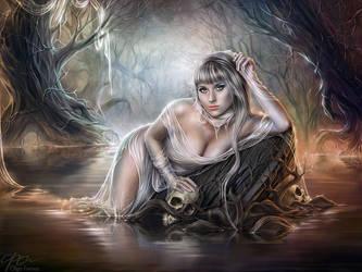 Dead Water by Helga-Helleborus