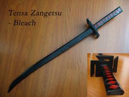 Tensa Zangetsu // Bleach by Laitz