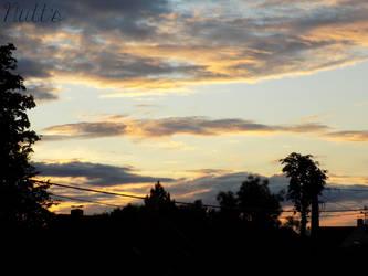 Golden clouds 2 by Nuttestla