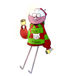Benson Christmas Sweater by QuasarCanine