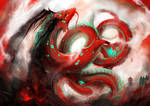 Red dragon by Aerinn-I