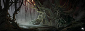 Ships in the swamp by Reicheran