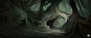Under the stump by Reicheran