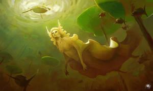 Freshwater mermaid by Reicheran