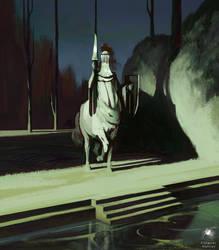Ghost centaur by Reicheran