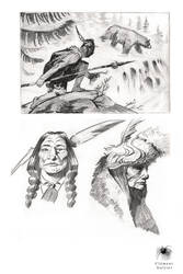 Sketch and study 04 by Reicheran