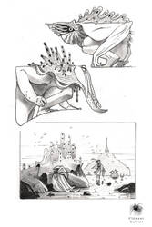 Sketch and study 14 by Reicheran