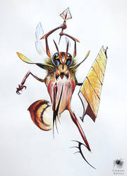 Hornet warrior by Reicheran