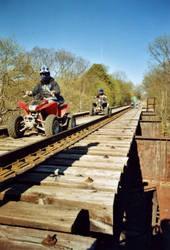 Four Wheel - High Bridge by RabbitMilk