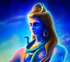 Shiva (portrait) by ChristasVengel