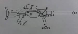 AT-17 anti-tank gun by Ruthie420