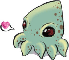 Squid squid by JadeSomeone