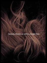 a single hair by Silver-Striped-Sky