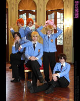 Ouran host club by PSHcosplay