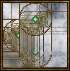 Jeweled Window by liazrdqueen