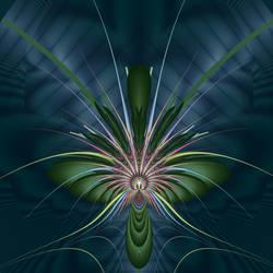 Alien Bloom by liazrdqueen