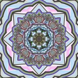 Moorish Tile II by liazrdqueen