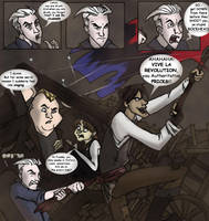 Brotherhood at the Barricade by Dendraica