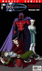 Necessary Evils Comic Cover by Dendraica