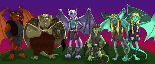 HTTYD: Gargoyles by Dendraica