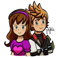 REQUEST: Lyndsey and Ventus by pikaplusmin