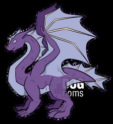 Random dragon by DogNoms