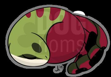 Sleepy Jannexi by DogNoms