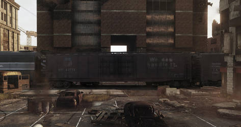 The wrong side of the tracks by jpachl