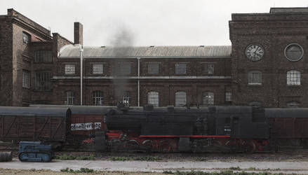Remember a great steam locomotive by jpachl