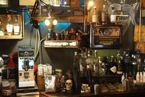 Barkeeper's workplace by jpachl