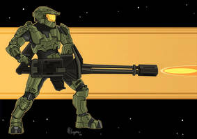 Master Chief by Arnixia