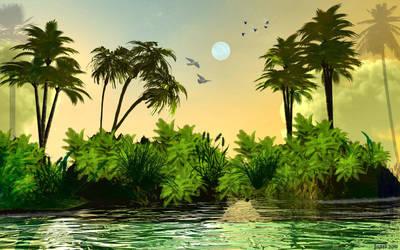 Island by jazzilady