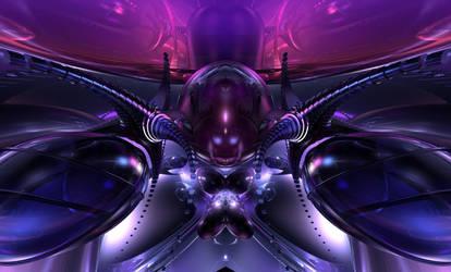 Alien Ship by jazzilady