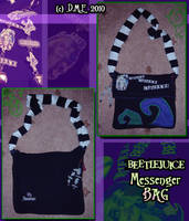 Beetlejuice Messenger Bag by tavington