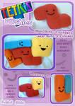Tetris Plushies by tavington