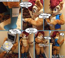 Silly-Sally Fursuit Fun by tavington
