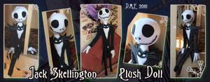 Jack Skellington Plush Doll by tavington