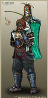 Ganondorf's Weakness by tavington
