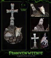 Frankenweenie diorama by tavington