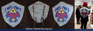 Hylian Shield backpack by tavington