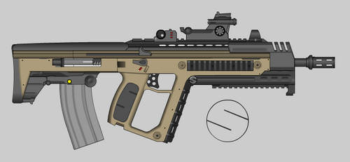 SPW Classic C74 Enhanced Assault Rifle by R4mos