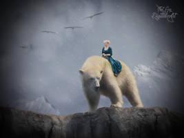 Polar Bear Rider by ThatGuyDigitalArt