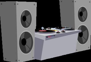 DJ setup by M99moron