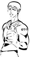 Onizuka GTO Stencil by Branbot