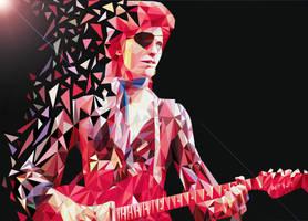 David Bowie by Penti-Menti